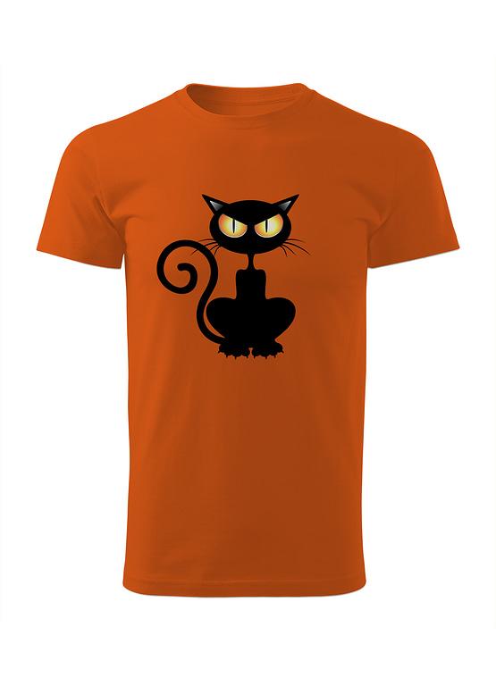 Oranžové tričko Dravý Mourek
