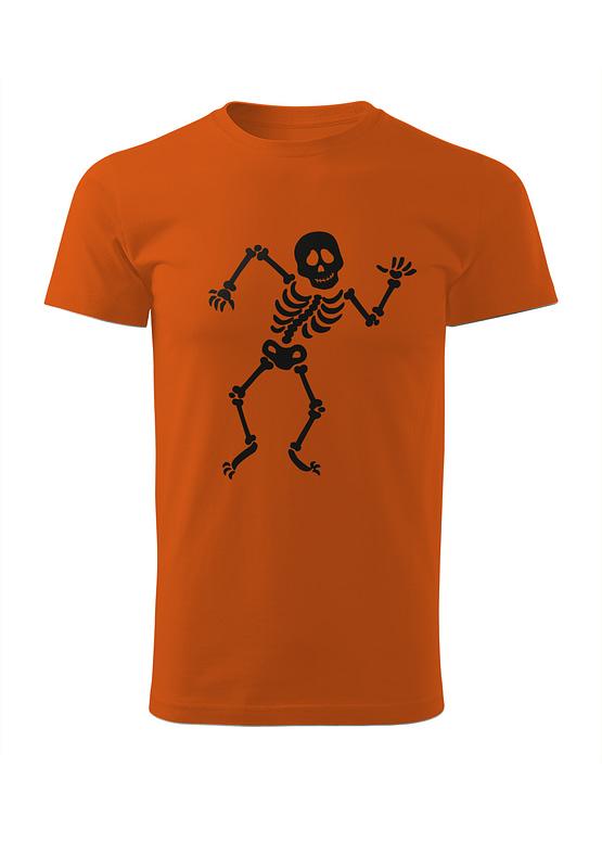 Oranžové tričko Kosťa Tanečník