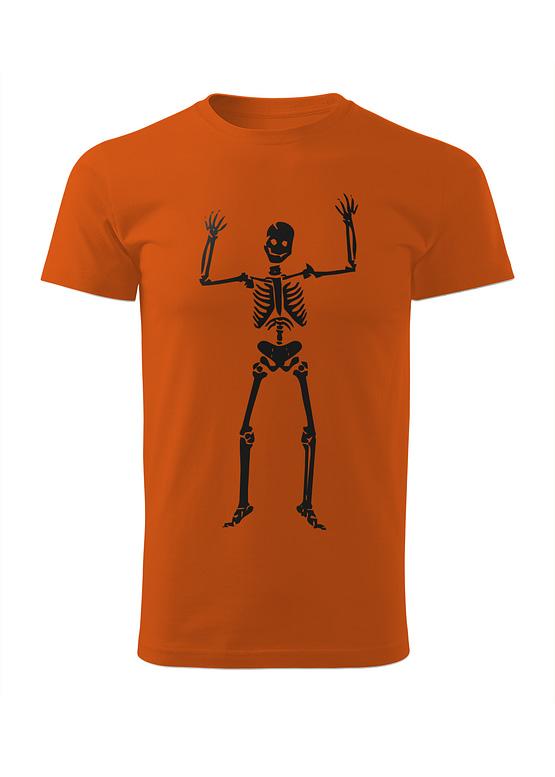 Oranžové tričko Kosťa Strašák