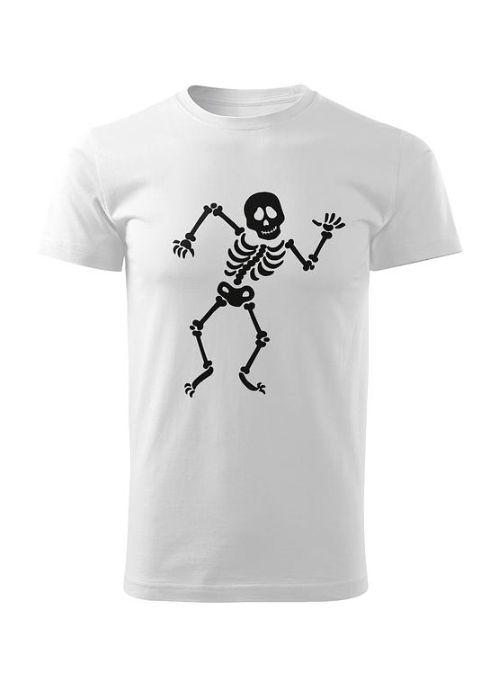 Bílé tričko Kosťa Tanečník