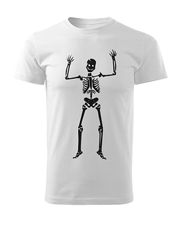 Bíle tričko Kosťa Strašák