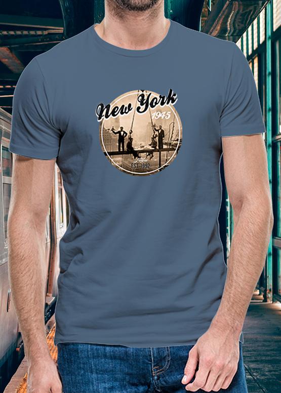 Denim tričko New York